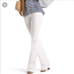 Cabi Wide Leg White Jean #218 NWT Sz4